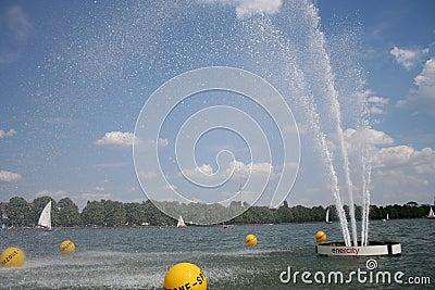 Summer Lake Editorial Photography
