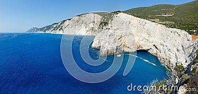 Summer Lefkada Island coast  (Greece)