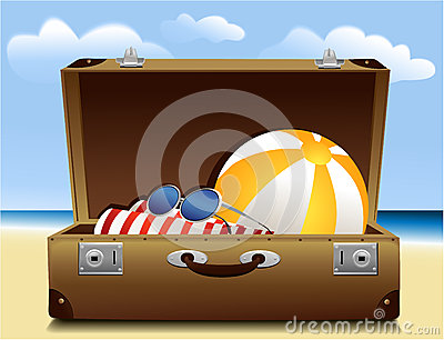 Summer luggage