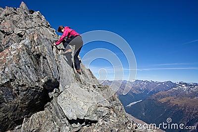 Summer mountaineering