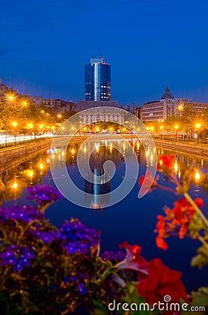 Summer night in Bucharest