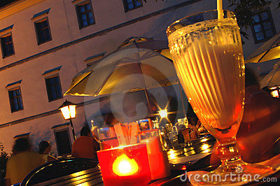 Summer Night with Candle Light