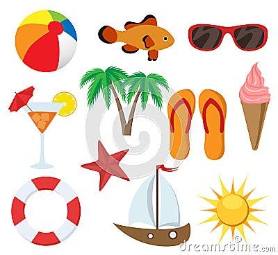 Summer object set
