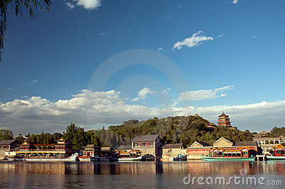 Summer Palace Stock Image - Image: 19864411