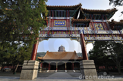 Summer Palace- Archway