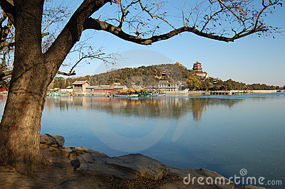 Summer Palace in the Winter