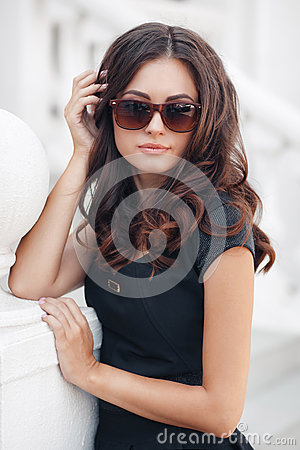 Free Summer Portrait Of The Beautiful Woman In The City Royalty Free Stock Image - 66650226