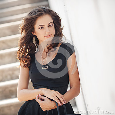 Free Summer Portrait Of The Beautiful Woman In The City Royalty Free Stock Photo - 66650245