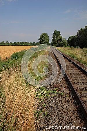 Summer railway