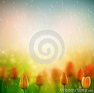 Free Summer Rain Royalty Free Stock Image - 40999046
