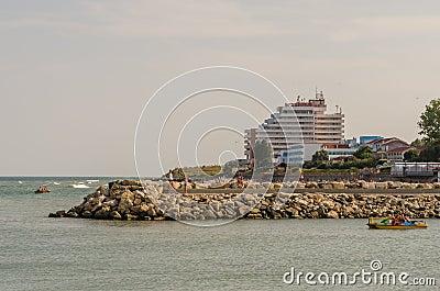 Summer Resort Hotels Editorial Stock Photo