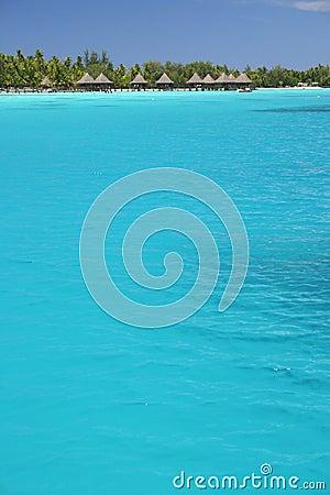 Free Summer Resort Lagoon Rangiroa Stock Images - 5233204