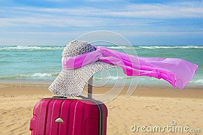 Summer romantic vacation