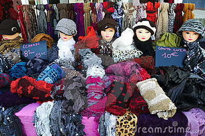 Summer Sales of Hats, shawls and gloves
