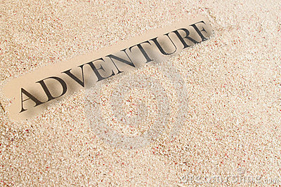 Summer sand adventure