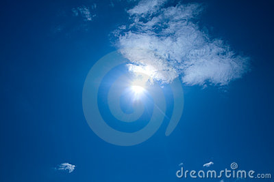 Summer skies and sun
