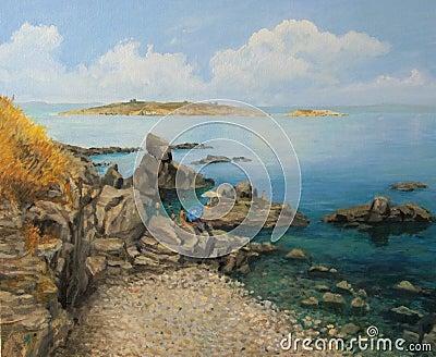Summer at Sozopols Seacoast