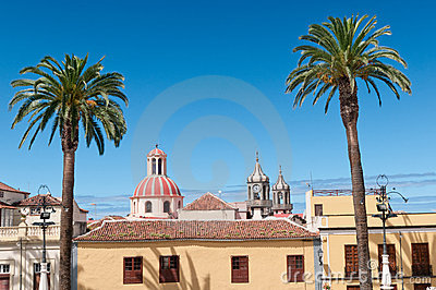 Summer in Spain, La Orotava, Tenerife, Spain