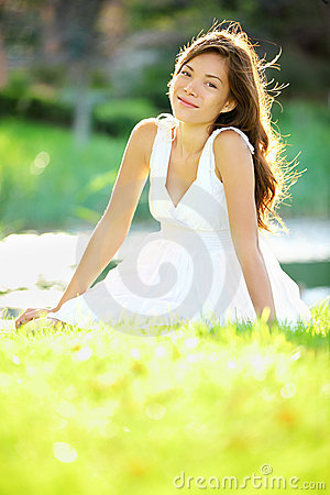 Free Summer / Spring Woman Stock Photo - 23749640
