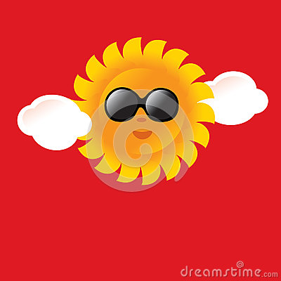 Summer Sun Poster/Sign