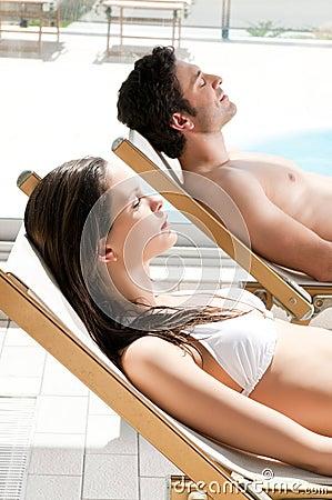 Summer sunbath