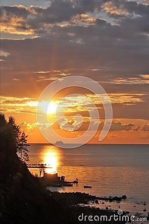 Free Summer Sunset Stock Photography - 1972422