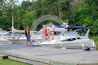 Summer in Sweden Editorial Image