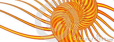 Summer Swirl - Fractal Image