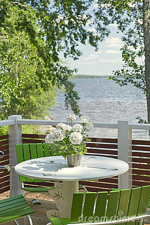 Free Summer Terrace Royalty Free Stock Photos - 20508718