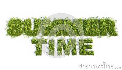 Summer time 3d grass test