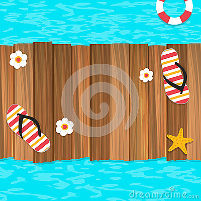 Free Summer Time Background Royalty Free Stock Photo - 53568545