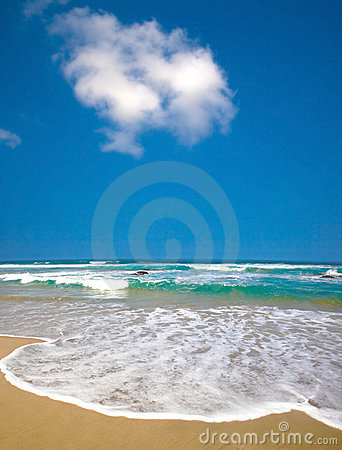 Free Summer Time On Beach Royalty Free Stock Photos - 14485338