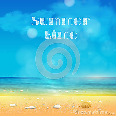 Summer Time, summer background