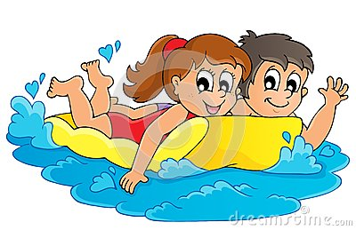 Summer water activity theme 3