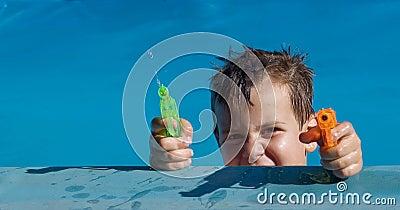 Summer water battle