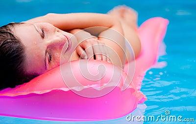 Summer water tanning mattress