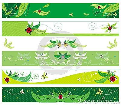 Summer web banners