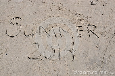 Summer 2014 in written in the Sand