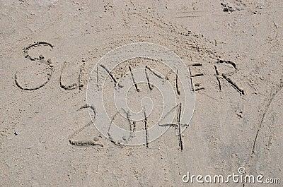Summer 2014 in written in the Sand