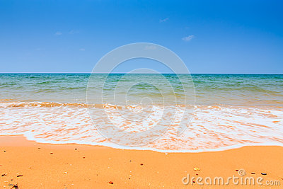 Summertime at the beach