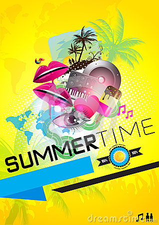 SummerTime Party Poster