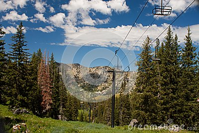 Summertime Ski Lift