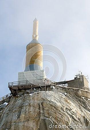 The Summit of Aiguille du Midi,