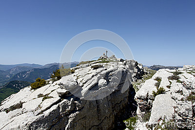 Summit of the cremon, france