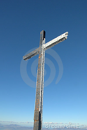 Free Summit Cross Royalty Free Stock Photo - 13328365