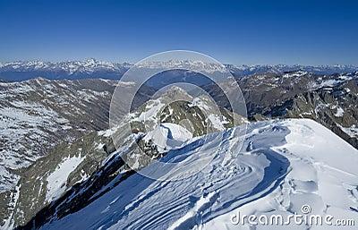 Summit of Italy Alps