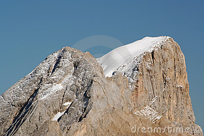 Summit of Marmolada,Italy