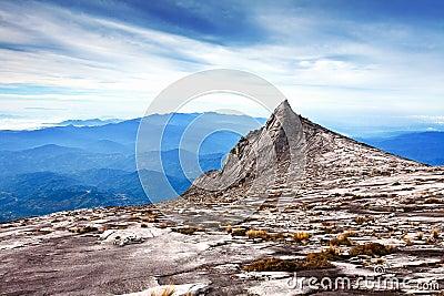 Summit of Mt Kinabalu, Asia s highest mountain