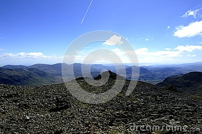 Summit of Scafell