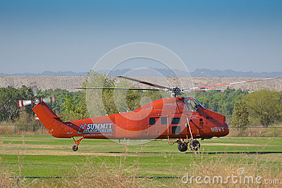 Summit - Sikorsky SS-58 DT Editorial Stock Photo